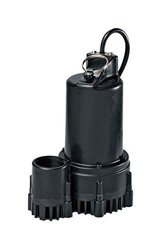 WAYNE RSP130 1/3 HP Thermoplastic Sump Pump With Tether Float Switch (Sump Switch Pump Tether)