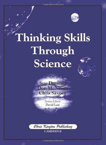 Thinking Skills Through Science PDF