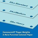 Hammermill Colored Paper, 20 lb Blue Printer