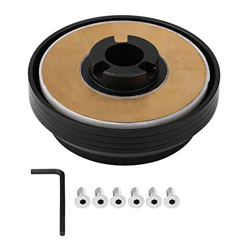 Mitsubishi Eclipse Alloy Wheel - Qiilu Steering Wheel Hub Adapter Boss Kit for Mitsubishi Eclipse Galant Subaru