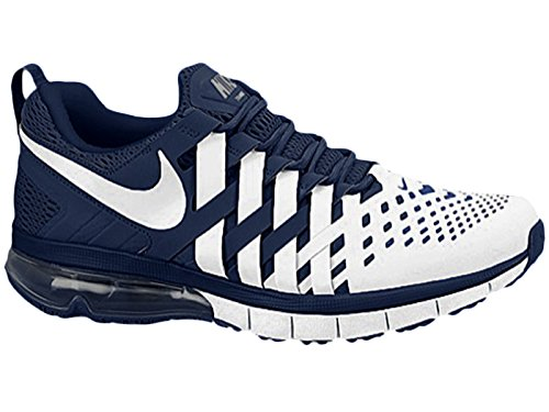 buy online f43a4 01bf8 Nike Fingertrap Max TB Shoes Midnight Navy White 666410-401 (10) - Buy  Official Jwrennie Nike Air Max 2017 Mens ...
