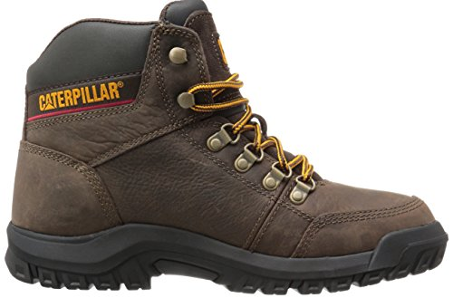 Men's Work Boot Brown Caterpillar Outline Seal 7wxBqZZd