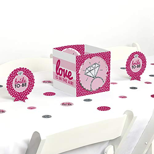 Big Dot of Happiness Bride-to-Be - Bridal Shower & Classy Bachelorette Party Centerpiece & Table Decoration Kit]()