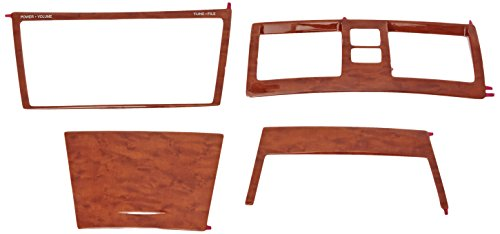 - Genuine Toyota Accessories PTS02-33084 Wood Grain Molded Dash Applique - 4 Piece