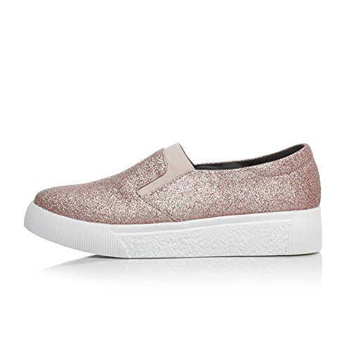Dolphinbanana Donna Glitter Sneakers Moda Low-top Mocassini Sparkle Flats Casual Flatties Dolphingirl Shoes Prime Apink