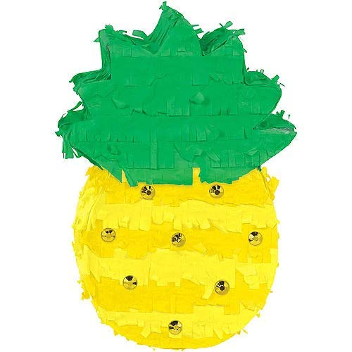 HollyDel Pineapple Pinata Decoration Summer ()