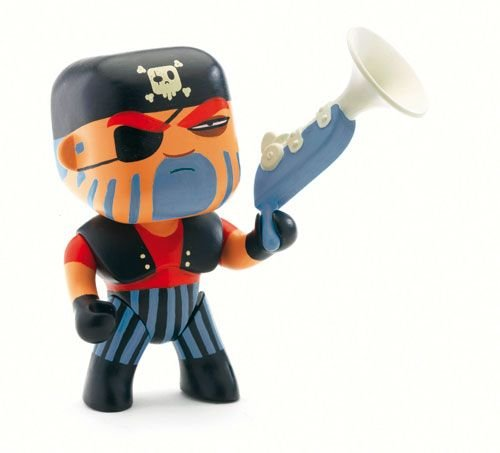 [Jack Skull-Arty Toys] (Jack The Neverland Pirate Costumes)