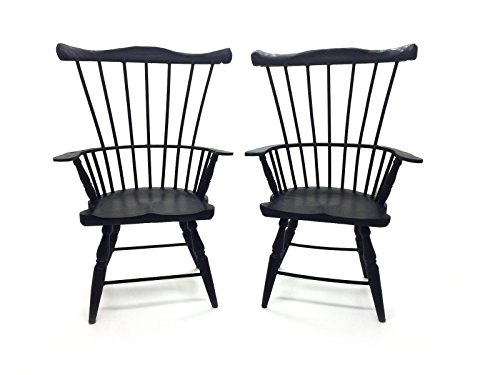 2 Windsor Style Wood Doll Chair With Arms, 16-18
