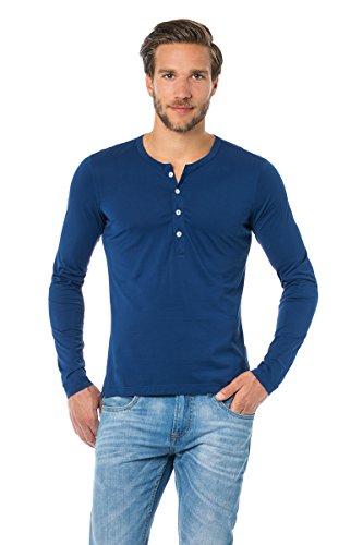 Herren Shirt 1/1 Arm Edgar Schiesser Revival royal 120-118-819