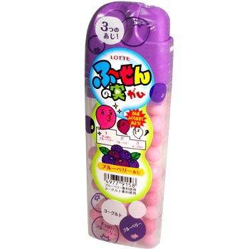 Lotte Fusen No Mi Blueberry Gum 1.34 oz