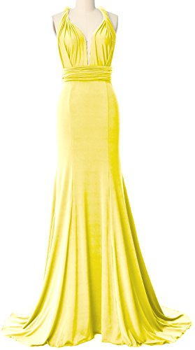 Canary Bridesmaid MACloth Way Dress Multi Maxi Wrap Formal Evening Convertible Gown avvWxqTnC