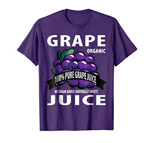 Grape Juice Box: Family Halloween Costumes for 5 people