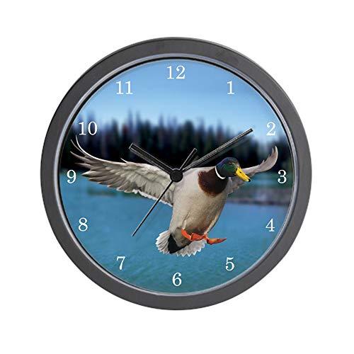 CafePress Duck Clock Unique Decorative 10