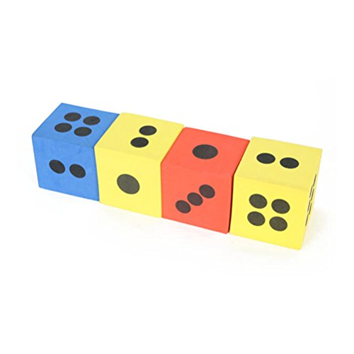Foam Playing Dice (PIXNOR Foam Playing Dice for Children Playing or Educational Activities)