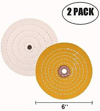 8 inch soft buffing wheel stainless aluminum mag polish 60 ply polishing buff