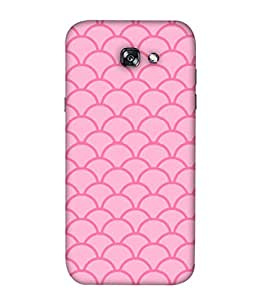 ColorKing Samsung A3 2017 Case Shell Cover - Waves Multi Color