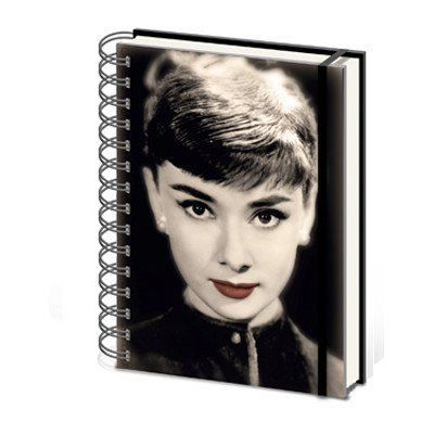 Audrey Hepburn Roman Holiday A5 Notebook