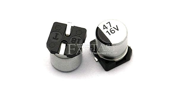 500Pcs 24 Valores de Aluminio Condensador Electrol/íTico Kit Surtido 10V ~ 50V Para La Modificaci/óN de La Reparaci/óN de Componentes Electr/óNicos