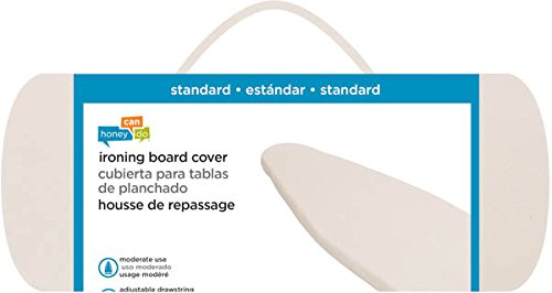Honey-Can-Do IBC-01283 Standard Ironing Board Cover, Natural by Honey-Can-Do (Image #1)