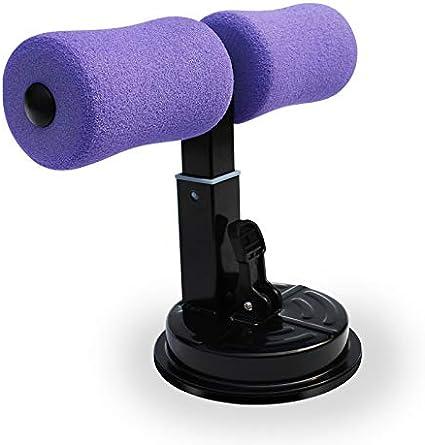 BAODANH Sit-Up Bar con Ventosa Cuscino Imbottito Pavimento Fitness Bar ABS Trainer Attrezzature per Allenamento Casa Lavoro