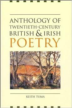Book Anthology of Twentieth-Century British and Irish Poetry by unknown (2001)