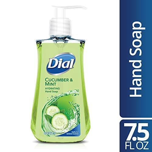 Dial Liquid Hand Soap, Cucumber & Mint, 7.5 Fluid Ounces