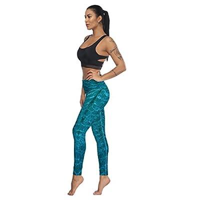 Fandim Fly Women's Workout Leggings High Waist Stretch Yoga Pants