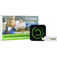 Hubitat Elevation Home Automation Hub - Smart Devices Automated with Local Hub, Personal Data Privacy, More Reliable than Cloud Based Systems. Works with Alexa, Google Home, Lutron, Zigbee, Z-Wave