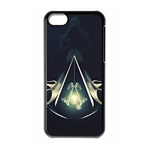 iphone5c phone cases Black Assassin's Creed cell phone cases Beautiful gifts YWRD4657868