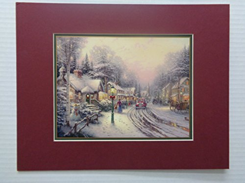 Thomas Kinkade Village Christmas Prints