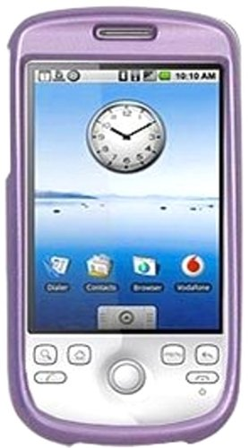 (Amzer Polished Snap-On Crystal Hard Case for T-Mobile myTouch 3G/HTC Magic - Purple)