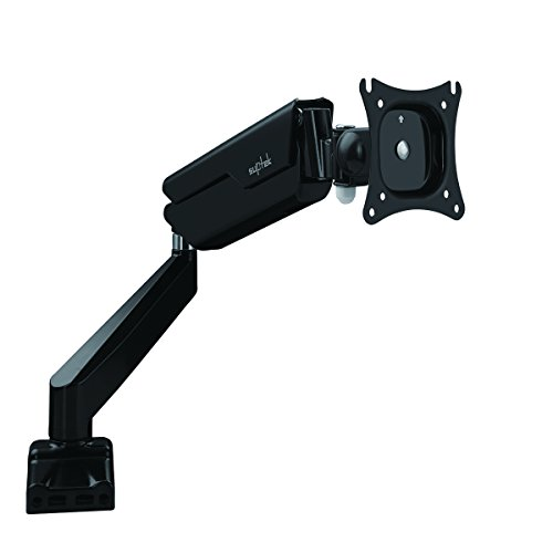 suptek Full Motion Desk Mount Bracket with Mount and Gas Spr