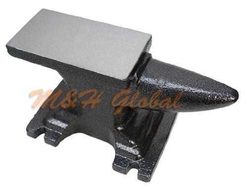 (11 lbs Solid Forged Steel Anvil Single Horn Base Jeweler Tool Metal Steel Anvil)