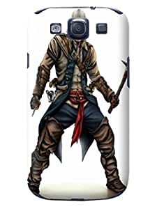 fashionable Design Plastic Assassin's Creed Case Cover for samsung galaxy s3