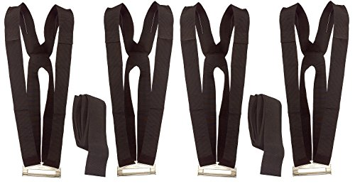 Shoulder Dolly 2-Person Lifting and Moving System - Easily Move, Lift, Carry, And Secure Furniture, Appliances, Heavy Objects Without Back Pain! Straps and Harnesses for 2 Movers (Pack of 2) by Shoulder Dolly