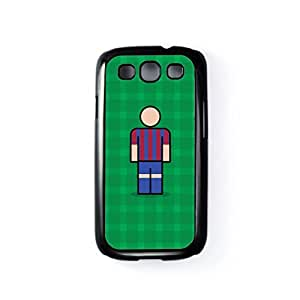 Barcelona Black Hard Plastic Case for Samsung? Galaxy S3 by Blunt Football European + FREE Crystal Clear Screen Protector