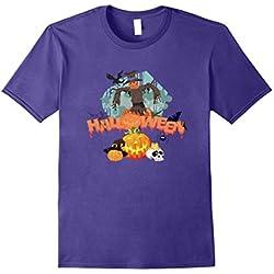Cool Halloween T-Shirt Costume Bats Scarecrow Pumpkin Spider