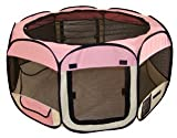 Pet Tent Exercise Pen Playpen Dog Crate XS