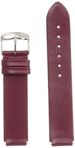 (Philip Stein 1-IBG 18mm Leather Calfskin Red Watch Strap)