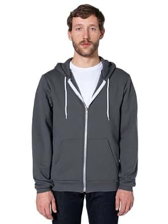 Amazon.com: American Apparel Men's Unisex Flex Fleece Zip
