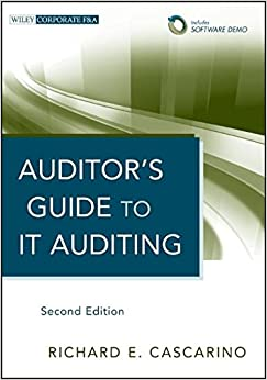 Auditor's Guide to IT Auditing, Software Demo