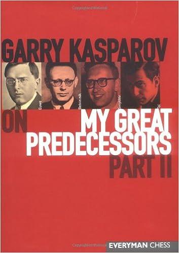 Garry Kasparov on My Great Predecessors Part 1