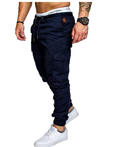 Lunghi Da Pantaloni Fitness Completo Grau Autunno Con Elastico Primavera Eisen Allenamento Libero Sport Uomo Tasche Tempo Vita In pEqwnrxdq