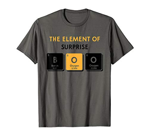 Boo Element of Surprise Halloween Periodic Table