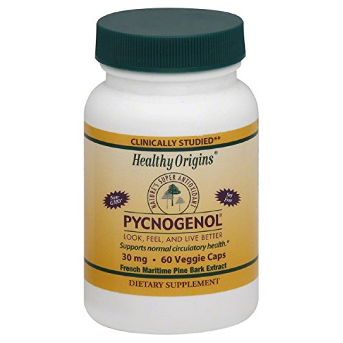 HEALTHY ORIGINS PYCNOGENOL,30MG, 60 VCAP by Healthy Origins (Image #1)