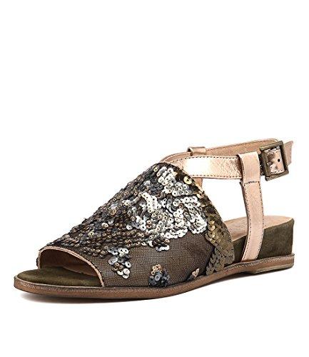 Heels D Grind Shoes Womens Khaki Multi Khaki Womens SILENT wACqgaq