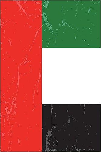 United Arab Emirates Flag Journal United Arab Emirates Travel Diary