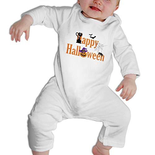 SWEETIE Halloween Baby Long Sleeve Infant Bodysuit Romper for 6-24months -