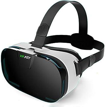 3D VR Headset Gafas, YSSHUI FiiT Realidad Virtual Teléfono Móvil 3D Movies Juegos con Resina Lens para 4.0-6.0 pulgadas Celulares: Amazon.es: Electrónica