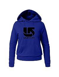 burton Printed For Ladies Womens Hoodies Sweatshirts Pullover Tops